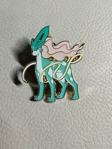 Suicune Pin from Legends of Johto Box | 2017 Official Pokemon Collector's Pin
