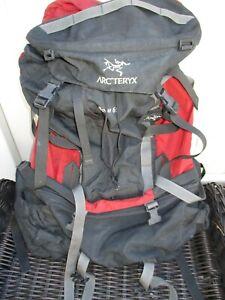 Arcteryx Bora 65 Backpack Mountain Hiking Backpack Red