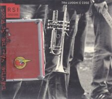 CD ♫ Audio DAVIDE VAN DE SFROOS ~ TRA LUOGHI E COSE ~ RSI SESSIONS new digipack