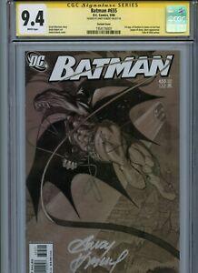 Signature Series CGC 9.4 Batman #655 Signed Kubert 1st App Damian Variant