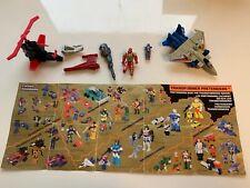 Hasbro Starscream komplett und andere Kleinteile von transformers 1988