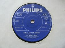 """THE WALKER BROTHERS Make It Easy On Yourself/But I Do UK 7"""" Single EX Cond"""