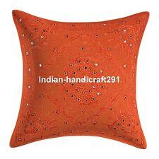 Indian Handmade Bedding Sofa Cushion Cover Decorative Pillow Case Cover Throw