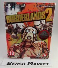 BORDERLANDS 2 PRIMA STAMPA PREMIERE CLUB SONY PLAYSTATION PS3 ITALIANO COMPLETO