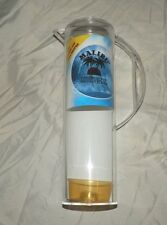 1999 NEW MALIBU CARRIBEAN RUM PARTY PITCHER CLEAR PLASTIC 48 OUNCES