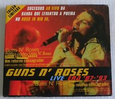 GUNS N ROSES LIVE ERA 87 93 2 CD SET MADE IN BRAZIL SPECIAL AND LIMITED ####