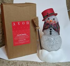 """AVON Chilly Samantha Light-Up Snow Woman - Working in Box - EXCELLENT - 10"""""""