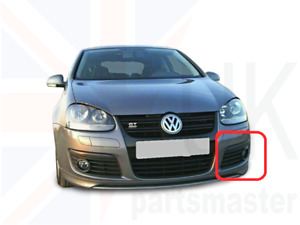 VW GOLF GT 2006-2008 MK5 NEW GENUINE FOG LIGHT TRIM GRILL LEFT N/S 1K0853665AD