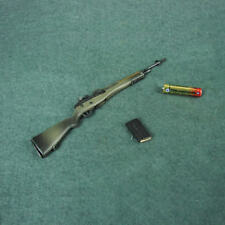 "1/6 Scale Rifle M14A1 Model Long Tube Green for 12"" Action Figure Body Hot Toys"