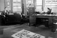 The Maltese Falcon Humphrey Bogart Jerome Cowan in office 4x6 inch real photo