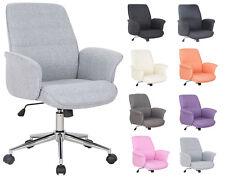 SixBros. Bürostuhl Drehstuhl Schreibtischstuhl Stoff Kunstleder Farbwahl 0704M