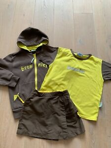 Brownies uniform - Jacket, T-shirt, skorts and bag