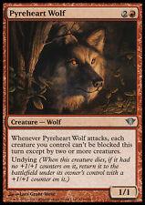 MTG 2x PYREHEART WOLF - LUPO CUORE INFUOCATO - DKA - MAGIC