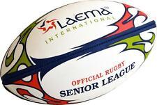 2 X SENIOR LEAGUE NRL Hi-Tech Advance PIN GRIP 4 PLY Rugby Match Ball Size 5