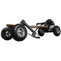 SkaterX Gas powered Mountain Board motor skateboard 49cc motorized ScooterX NEW