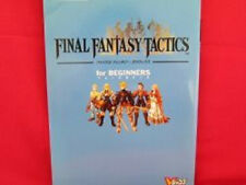 Final Fantasy Tactics beginners strategy guide book / PS1