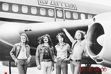Led Zeppelin The Starship Boeing 720 c. 1973 Music Poster Print 36X24