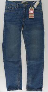 Levi's Boys 502 Jeans 14 Husky 33x28 Stretch Tapered Regular Fit