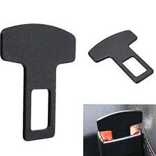 Car Accessories Black Safety Seat Belt Buckle Alarm Stopper Eliminator Clip