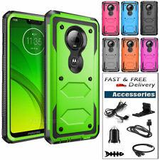 For Motorola Moto G7/Plus/Power Shockproof Hybrid Rubber Phone Case Accessories