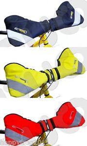 Biker's muff - all weather hand protection, hand warmers. Handlebar Gloves