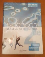 Livre de seconde SVT HACHETTE EDUCATION