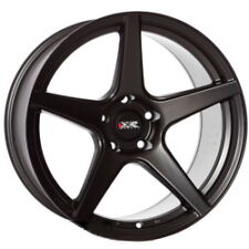 "XXR 535 18"" x 8.75 ET20 5x100 FLAT BLACK SINGLE ALLOY ONE WHEEL X 1 WIDE Z2247"