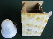Precious Moments~May Your Christmas Be Delightful~Angel Bell Ornament~Excel~Used