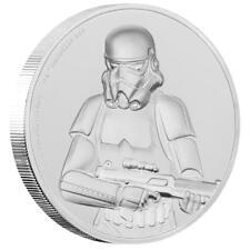 Niue - 5 Dollar 2018 - Star Wars™(4.) Stormtrooper™ - 2 Oz Silber High Relief PP