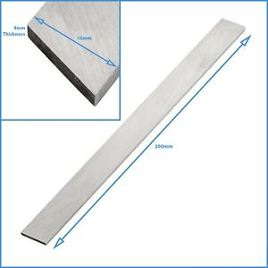 4mm x 16mm x 200mm HSS Tapered Lathe Parting Off Tool Turning Blade Taper Bar