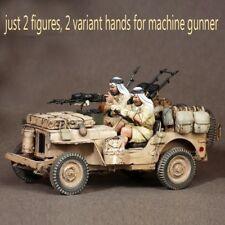 1/35 Resin Jeep Crew SAS. North Africa unpainted unassembled BL282