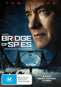 Bridge Of Spies (DVD) Tom Hanks  - Region 4 - Very Good Condition