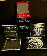 2001 Steve Vai Secret Jewel Box 4 Cds W/ Frank Zappa Archive Secret Interview Cd