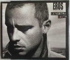 """EROS RAMAZZOTTI - 1 TRACK PROMO SINGLE CD """"LA NOSTRA VITA"""""""