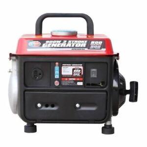 900 Watt Portable Gas Generator Combo Pack