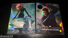 Captain America : Winter Soldier 3D+2D Blu-Ray Kimchidvd Fullslip A2
