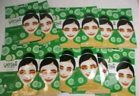 12 PACK YES TO CUCUMBERS SOOTHING CALMING PAPER MASKS 1 EACH