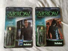 Funko Re-Action 3.75 Set of 2 - Masked & Unmasked - Green Arrow Stephen Amell