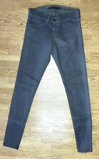 Womens PLASTIC BY GLY Plastic coated skinny Stretch Ankle jeans Size 26