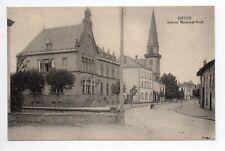 DIEUZE DUSS Moselle CPA 57 l'avenue du maréchal Foch