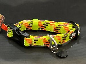Arcadia Trail Yellow Paracord rope adjustable Collar