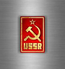Sticker ussr cccp sssr urss russia soviet union flag decal emblem russian car r6
