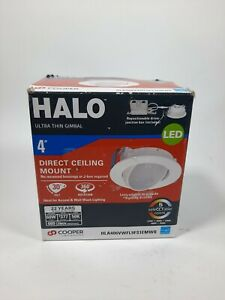 Halo HLA4 4 in. 2700K-5000K Selectable Color Temperature Integrated LED