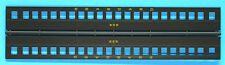 Seaboard Coach Sides w/Windows HO Model Railroad Painted Plastic Detail BB51129