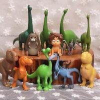 Set of 12 The Good Dinosaur Figure with Arlo, Spot and Bonus Toy PVC Cake Topper