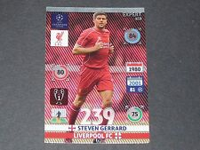 STEVEN GERRARD LIVERPOOL REDS UEFA PANINI FOOTBALL CHAMPIONS LEAGUE 2014 2015