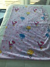 Disney Princess Cinderella Belle Aurora Dream Twin Flat Bed Bedding Sheet Euc