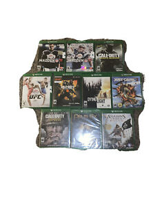Xbox Ones Games Lot Of 10-5 Brand New 5 Used -Check Desc For Details!Black Ops 4