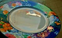 LOT-1 Mint, 1 Near Mint Christopher Stuart Optima FRENCH BROCADE SALAD PLATES