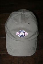 San Diego Padres 2001 MLB Adjustable Baseball Cap Hat - Sycuan Golf - Blue Wave